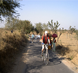 Biking in the Aravallis