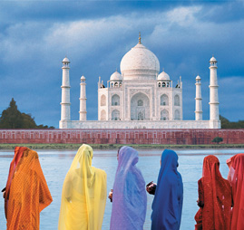 Golden Triangle by Cycle Tour
